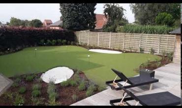 Embedded thumbnail for puttinggreen in eigen tuin