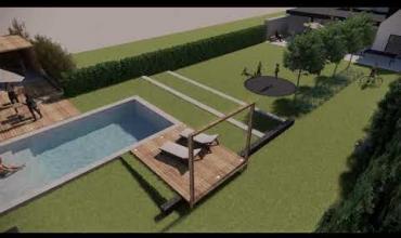 Embedded thumbnail for 3d drone vlucht strakke tuin